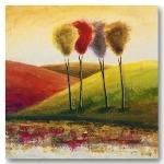 Bilder und Poster - Deko - Kunstdruck - abstrakt - Endless Hills I