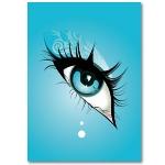 Bilder und Poster - Deko - Poster blue eye