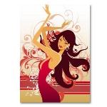 Bilder und Poster - Deko - Poster dancing girl