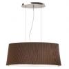 Dekorative Lampen - Pendelleuchte Schirm/Plexiglas braun