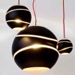 Dekorative Lampen - Pendelleuchte Bond Kugel modern