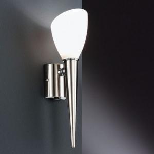 Wandfackel Stahl - Wandlampe