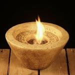 Teelichter und Kerzen - Kerze Feuerschale