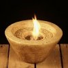 Kerze Feuerschale