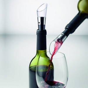 Tischdekoration - Dekantierungsausgießer Vignon Weinflasche