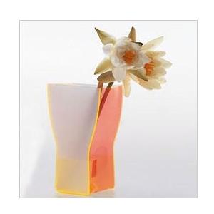 Tischdekoration - Fluoreszierende Plexiglasvase - SAMIKO II