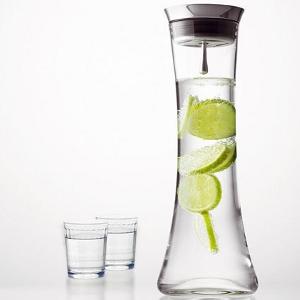 Tischdekoration - Wasserkaraffee Design mit Sieb