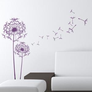 Wandaufkleber Design - Pusteblume