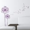 Wanddekoration - Wandaufkleber Design - Pusteblume
