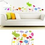 Wanddekoration - Wandsticker Blumen