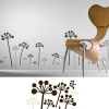 Wanddekoration - Wandtattoo Pflanzen Rose