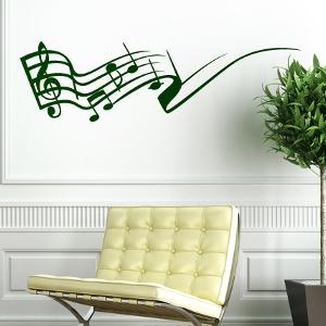 Wandsticker - Musik und Noten